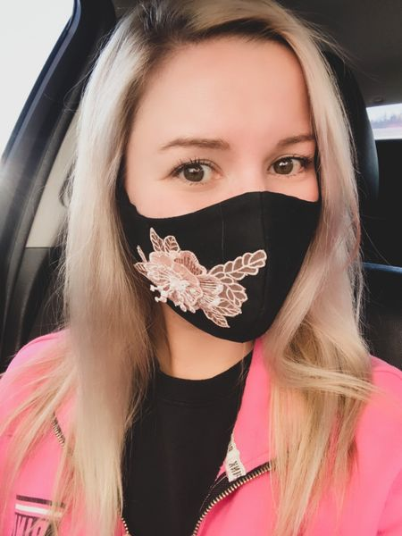 A pretty face mask that makes your outfit 💕 Protect yourself and others in style 😷  #facemask   #LTKstyletip #LTKbeauty #StayHomeWithLTK