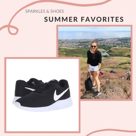 My most worn pieces of Summer definitely include these black and white Nikes    #fashionfavorites #wardrobestaples   #LTKunder100