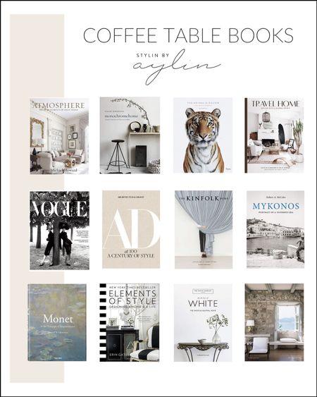 Coffee table books, table books, coffee table styling, amazon finds, amazon books, StylinByAylinHome   #LTKstyletip #LTKunder100 #LTKhome