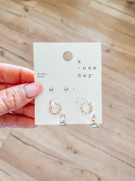 Target A New Day earrings $8!! Soo stinkin cute!   #LTKbeauty #LTKsalealert #LTKunder50