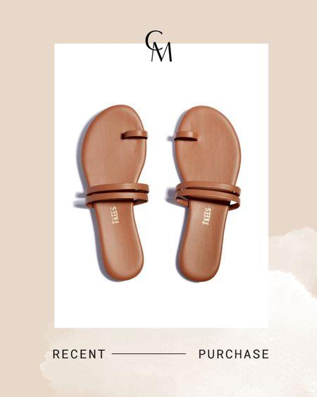 TKEES leather sandals http://liketk.it/3hRpi @liketoknow.it #liketkit #LTKunder100 #LTKshoecrush