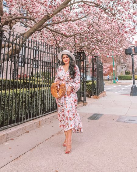 Twinning with the blooms like.. 🌸 How cute is this floral maxi dress! Absolutely love this print! @amazonfashion does it again 🙌🏽  . . Shop the look 1️⃣ http://liketk.it/3cQyk  2️⃣ link in bio   #liketkit #LTKunder50 #LTKstyletip #LTKsalealert @liketoknow.it Shop your screenshot of this pic with the LIKEtoKNOW.it shopping app