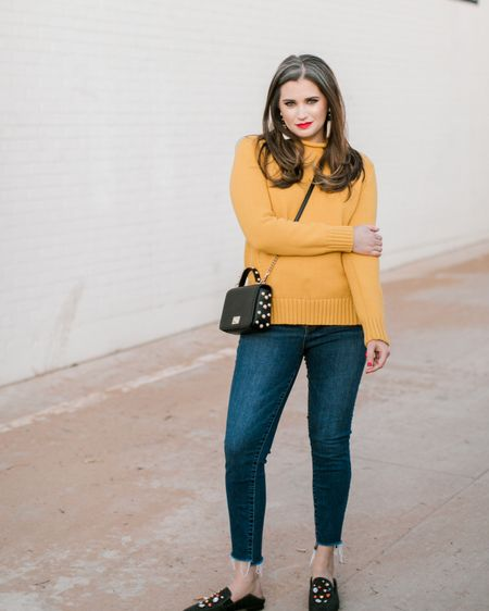 I am so over winter weather! One thing I am not over, this @jcrew rollneck sweater. Right now, it is on sale for less than $60 with the code WEDNESDAY (and it comes in five different colors). I find it to be true to size, I am wearing a medium.    http://liketk.it/2AbIk #liketkit @liketoknow.it Download the LIKEtoKNOW.it app to shop this pic via screenshot #LTKsalealert #LTKunder100