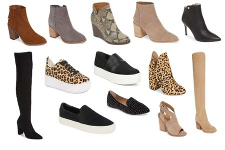 OMG shoes is where it's at!! I got you covered at the Nordstrom sale! All types of booties in every color - snakeskin, leopard print, fashion sneakers, flats and OTK boots for this fall! They all come in multiple colors! Grab your size before they are gone! Shop your screenshot of this pic with the LIKEtoKNOW.it app http://liketk.it/2DhK4 #liketkit @liketoknow.it #LTKsalealert #LTKshoecrush #LTKunder100 #LTKunder50