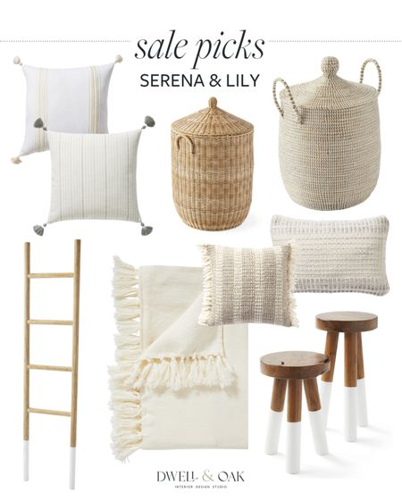 Serena and Lily sale! Save big on Serena and Lily pillows, home accents, decorative baskets and more. #serenaandlily   #LTKstyletip #LTKhome #LTKsalealert