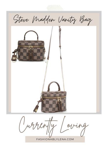 Steve Madden Vanity Bag. Available in white and Black also. Fall bags.  #LTKSeasonal #LTKitbag #LTKunder100