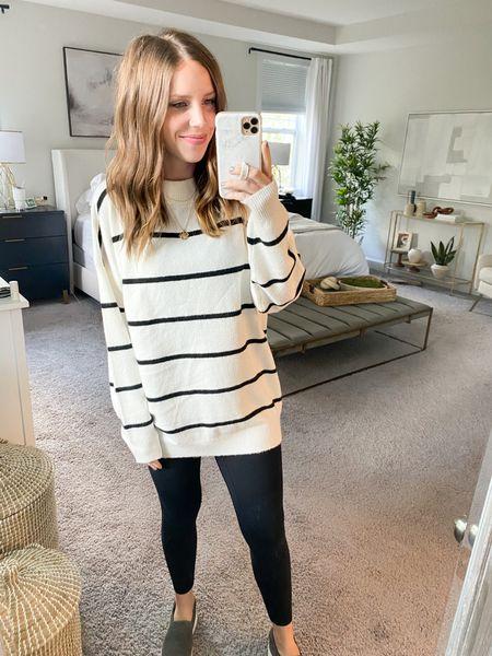 Target sweater, wearing small