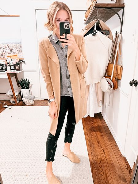 The best sweater cardigan out there!   #LTKstyletip #LTKSeasonal #LTKunder100