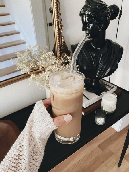 At-home iced coffee #home  #LTKhome