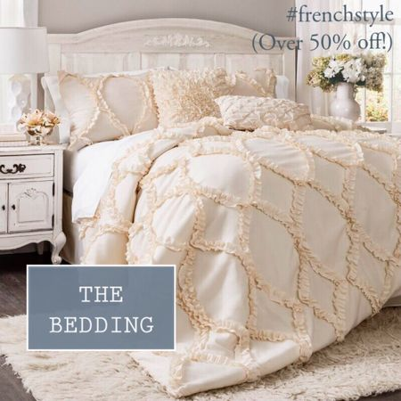The perfect bedding for Valentine's Day?  Get it now while it is over 50% off!  #frenchstyle   #StayHomeWithLTK #LTKhome #LTKsalealert @liketoknow.it.home @liketoknow.it.family http://liketk.it/35p5n #liketkit @liketoknow.it