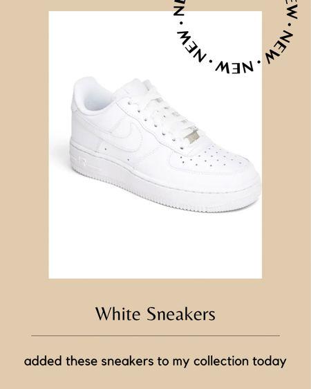 New white sneakers! http://liketk.it/39Ud2 #liketkit @liketoknow.it #LTKunder100 #LTKstyletip #LTKshoecrush