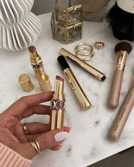 YSL beauty sale - 25% off must-have makeup and skincare! These are a few of my faves . Lip colors beige satin and nude transparent - buttery and creamy!   #LTKGiftGuide #LTKunder50 #LTKSale