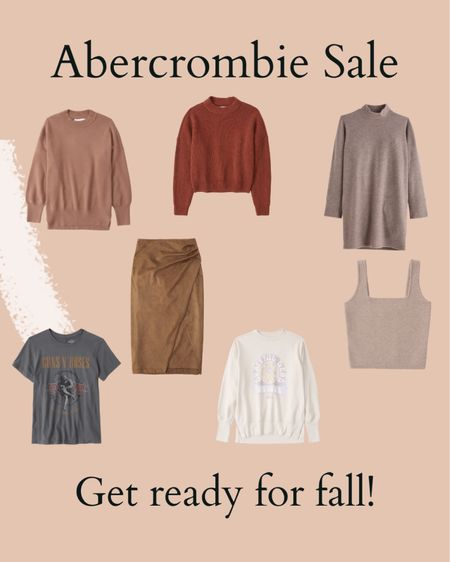 Abercrombie fall sale, flannel, graphic tee, hoodie  #LTKsalealert #LTKunder100 #LTKSeasonal