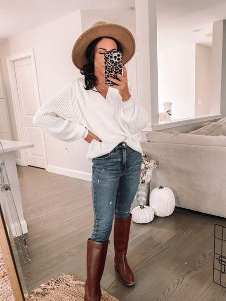 Target try -on Fall trends Sweaters Boots   #LTKSeasonal #LTKstyletip