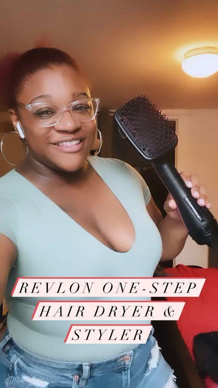 The Revlon One-Step Hair Dryer & Styler #revlon #hairdryer #amazonfind #haircare   #LTKunder50 #LTKbeauty