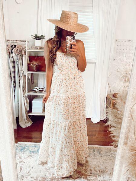 Loving this eyelet floral maxi dress for summer 💕   #LTKunder100 #LTKstyletip