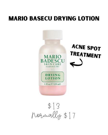 Skincare, acne treatment, acne spot treatment, drying lotion, Mario badescu, Sephora sale. #LTKsalealert #LTKbeauty #LTKVDay #liketkit @liketoknow.it http://liketk.it/38iNW