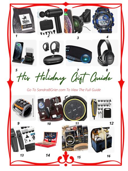 Holiday Gift Guide for Him ❤️ Find the perfect Holiday Gift for him with this guide! More suggestions listed!    Screenshot this pic to get shoppable product details with the LIKEtoKNOW.it shopping app http://liketk.it/33Fgz #LTKgiftspo #LTKmens #StayHomeWithLTK @liketoknow.it #liketkit http://liketk.it/33FqF