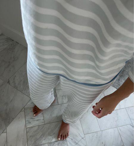 Lake pajamas / stripe pajama set / loungewear / stripe set   #LTKhome