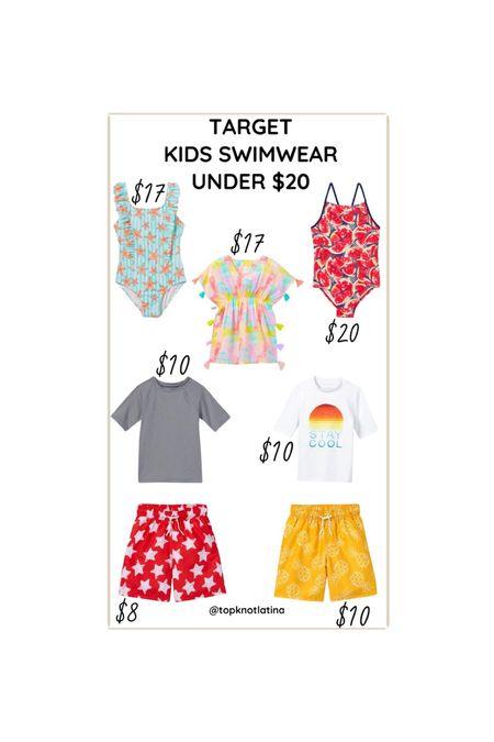 Beach Wear Bathing Suits  #LTKswim #LTKkids #LTKsalealert