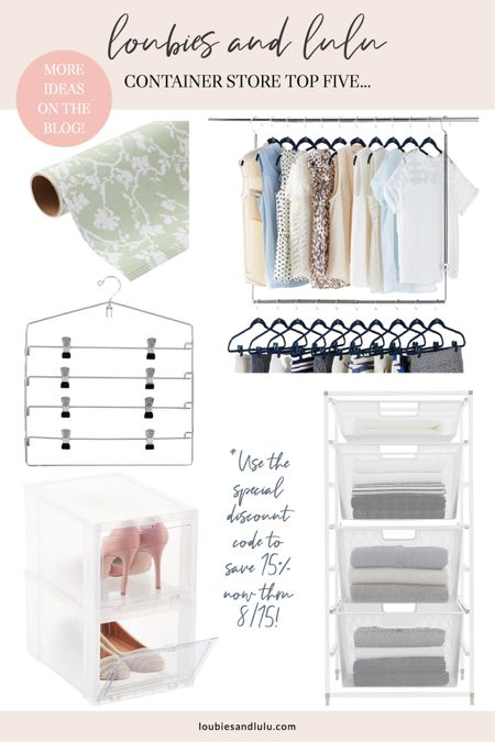 Top five for college dorm room storage from @thecontainerstore!🙌🏼 #containyourself #college #dormroom #dormdecor   #LTKhome #LTKunder100 #LTKfamily