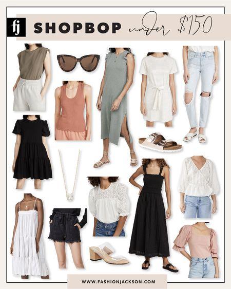 Loving all these under $150 finds from #shopbop for late summer, pre-fall. #summerdresses #under150 #fashionjackson #liketkit  #LTKunder50 #LTKunder100 #LTKstyletip