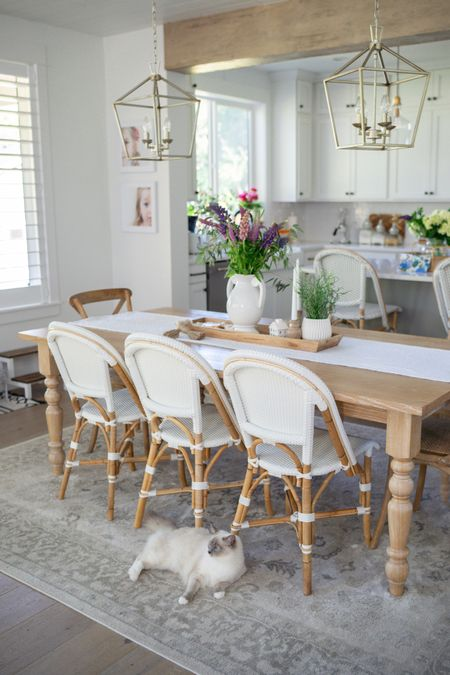 Do you have an open concept dining/kitchen area like us?! I love having this area feel like one space.  We actually eat at our table together which is super nice! It's also great for entertaining. I've linked everything over on the blog/LTK as well as more photos! Lemme know what you think!    http://liketk.it/3fBxL #liketkit @liketoknow.it #LTKhome #LTKunder50 #LTKunder100   You can instantly shop all of my looks by following me on the LIKEtoKNOW.it shopping app