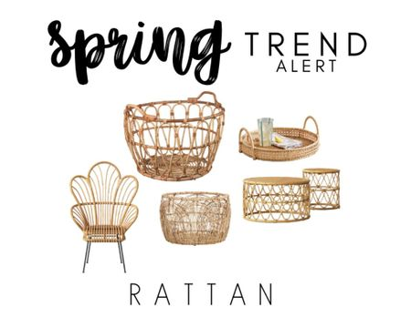 Trend Alert 🚨- Rattan is super hot right now and you're going to be seeing it everywhere this Spring/Summer! Shop the rattan trend now on @liketoknow.it ! http://liketk.it/2L2P1 #liketkit #LTKspring #LTKhome