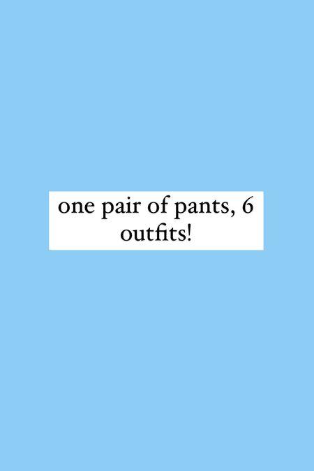 #LTKunder50 #LTKworkwear #LTKunder100