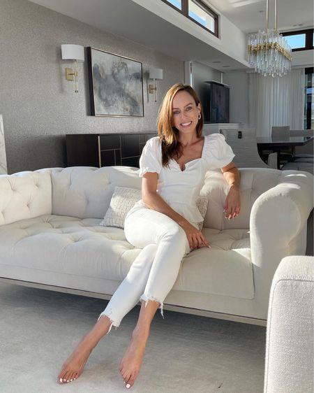 White on white 🤍      #LTKstyletip