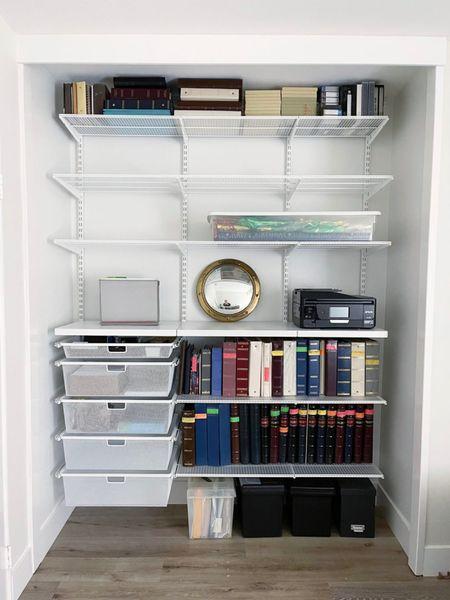 Elfa closet system! Elfa systems are on sale on sale right now!! || #elfa #elfacloset #organization #closetorganization #storage   #LTKhome