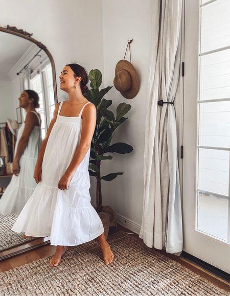 Jenni Kayne summer dresses are back ☀️ Fully lined and nice and roomy. Use Natalie15 for 15% off  #LTKSeasonal #LTKsalealert #LTKstyletip