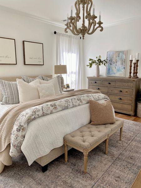 Home decor // bedding // master bedroom // paisley quilt set // dresser   #LTKsalealert #LTKunder100 #LTKhome