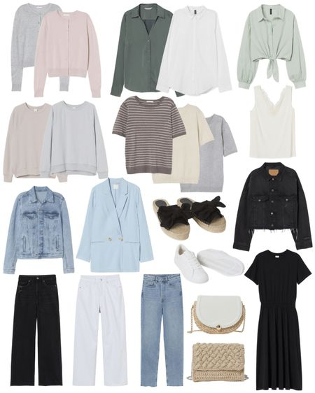 A spring capsule wardrobe is a great way to maximize the pieces you have in your closet. Each of these are under $60 and can be mixed and matched many ways! 🌸 http://liketk.it/3cvlE @liketoknow.it #liketkit #LTKstyletip #LTKunder100