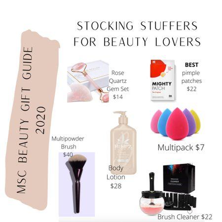 Beauty stocking stuffers http://liketk.it/320KZ #liketkit @liketoknow.it #LTKbeauty #LTKunder50