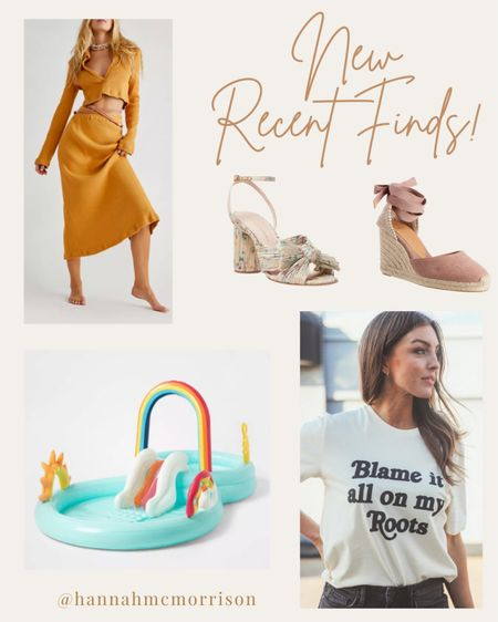 New recent finds! Summer sandals, matching sets, graphic tees, water toys for kids  http://liketk.it/3e9Hv #liketkit @liketoknow.it
