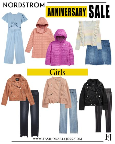 Love the girls section of this sale. The moto jackets are adorable  #Nsale Girls outfits Girls style Girls winter jackets   #LTKstyletip #LTKunder100 #LTKkids