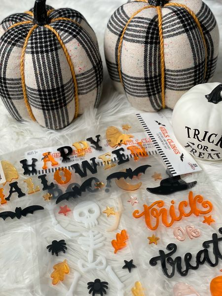Fall and Halloween decor from Target. Everything is under $10! I'm loving the plaid and Buffalo check pumpkins   #LTKSeasonal #LTKhome #LTKunder50