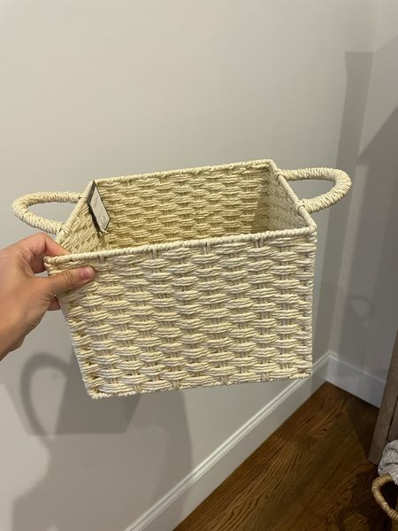 $6 basket! Great to stock up for gift baskets. Some ideas: new baby, engagement, bridal shower, new home, new neighbors, hostess gift, holiday themed gift basket   #LTKHoliday #LTKSale