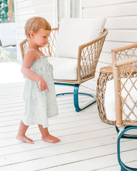 Grab the best deal you can find on patio furniture now. Both our patio chair set and this outdoor sofa and chair set sold out last year and I just saw it restocked. Run and grab it now. I promise you'll love how much use you get out of it and the price is hard to beat. 💕 http://liketk.it/36rZW #liketkit @liketoknow.it  outdoor furniture  Walmart find Patio living 30a mama #LTKfamily #LTKhome #LTKsalealert