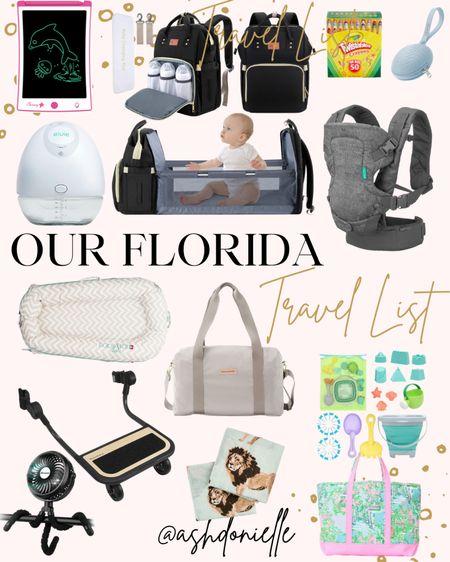 Our must have Florida travel items! http://liketk.it/3ihCk #liketkit @liketoknow.it #LTKfamily #LTKtravel #LTKbaby #babynecessities