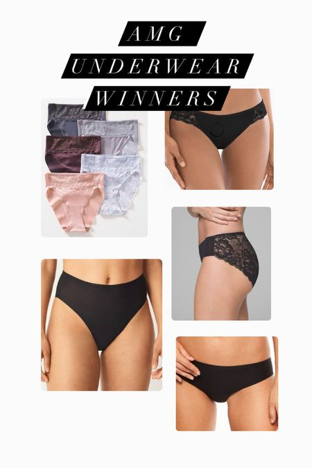 From my underwear review, here were my favorites! They were Chantelle and Soma Vanishing.