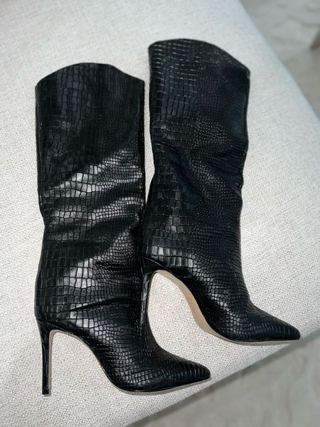 New Fall/winter boots  Schutz boots  Come in other colors  True to size    #LTKSeasonal #LTKstyletip #LTKshoecrush