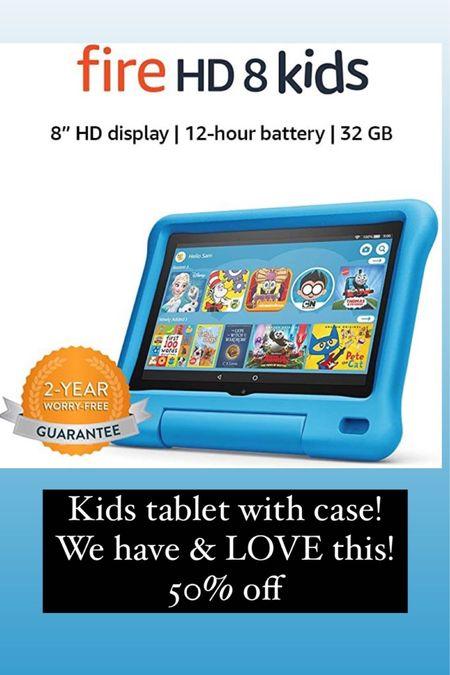 Kids fire tablet 50% off Amazon prime day http://liketk.it/3iaTP @liketoknow.it #liketkit #LTKkids #LTKunder100 #LTKsalealert
