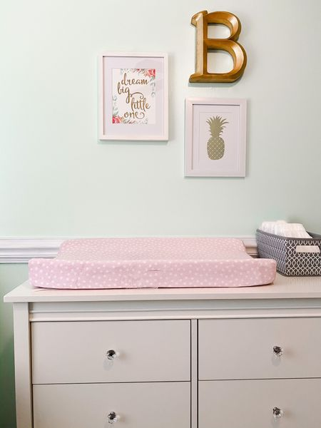 Finally making progress in the nursery ✨ We've used the same furnishings and bedding for all three girls, but I still like to change up the wall color and decor for each of them 🎀 I ordered some drapes today - can't wait to share the final reveal soon! 💕 . Do you have a hard time making decor decisions...or is it just me?! Tell me I'm not alone 🤪 . . .  http://liketk.it/2KdO8 @liketoknow.it @liketoknow.it.home   #liketkit #LTKbaby #LTKkids #LTKhome