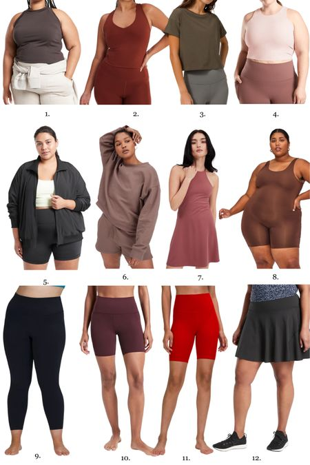 Size 14-16 athleisure picks! I love that I can wear these pieces working out or mix them into chic fall outfits   #LTKfit #LTKcurves