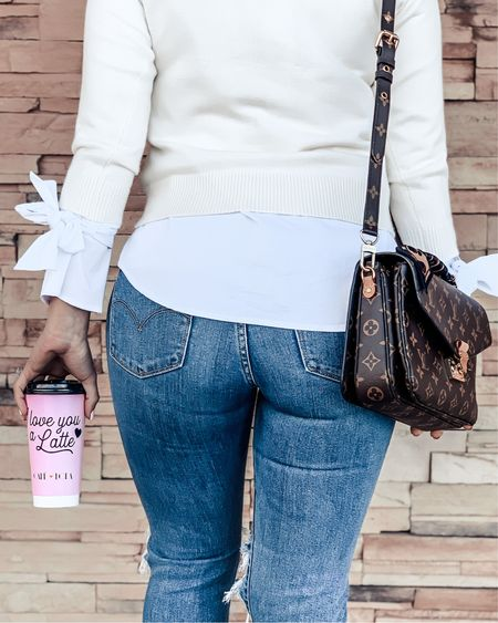 Walking into the week with a cup full of coffee & Louis Vuitton 🤩   #LTKtravel #LTKstyletip #LTKitbag