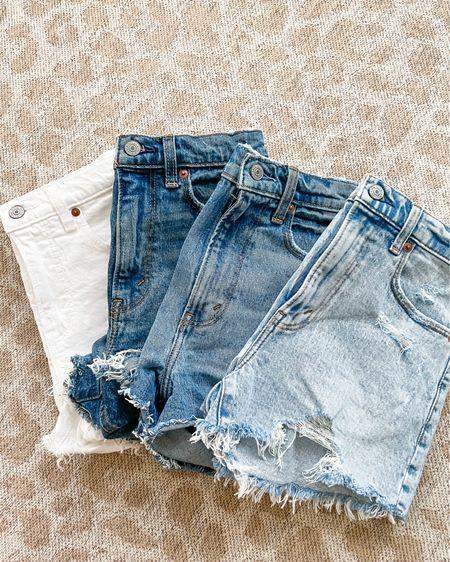 Denim shorts on sale size 24 http://liketk.it/3hqOu #liketkit @liketoknow.it #LTKunder100 #LTKunder50 #LTKsalealert
