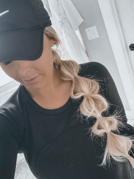 Mid week workouts and hats mean one thing.. I am due to wash this hair!! I love messing around with fun ponies and braids to keep the hair out of my face during my intense OTF workouts 💁🏼♀️- I linked the best elastics I use on Charlotte and my own hair and also linked my absolute FAVORITE tinted moisturizer/spf— it truly makes you feel like you don't need any foundation or makeup on all while getting great skincare benefits 🙌🏻 the moisturizer is pricey but it's SO good and I've been using it for almost a year. Also check out these maternity leggings from Nordstrom.. they really are THE best! #LTKbump #LTKstyletip #LTKfit  http://liketk.it/2KMp0 #liketkit @liketoknow.it