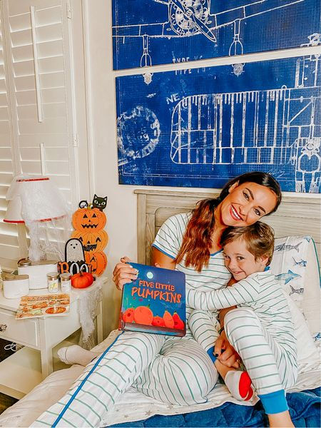 Family matching pajamas ❤️ Cute and comfy pjs to match with Leyton! Also linked up Leyton's Halloween book below!   #LTKstyletip #LTKkids #LTKHoliday